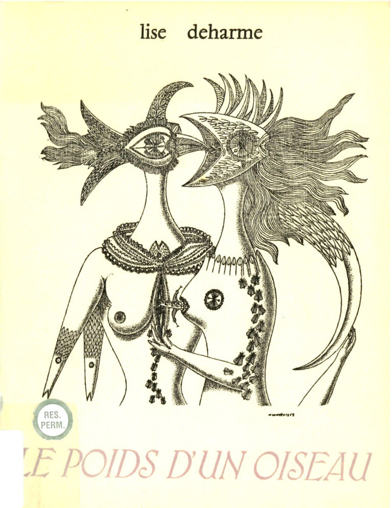 Deharme, Lise, Le Poids d'un oiseau