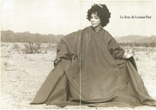 Fini, Leonor, Le Livre de Leonor Fini. Peintures, dessins, écrits, notes de Leonor Fini
