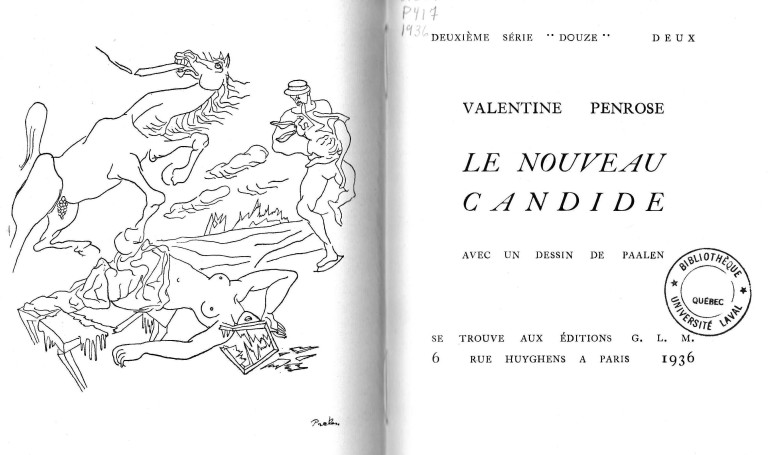 Penrose, Valentine, Le Nouveau Candide