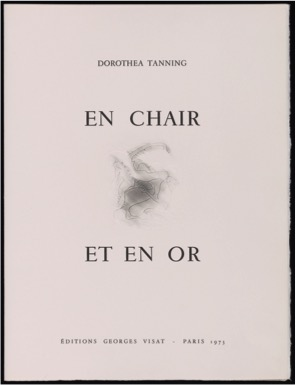 Dorothea Tanning, <br /><em>En chair et en or</em>, 1973