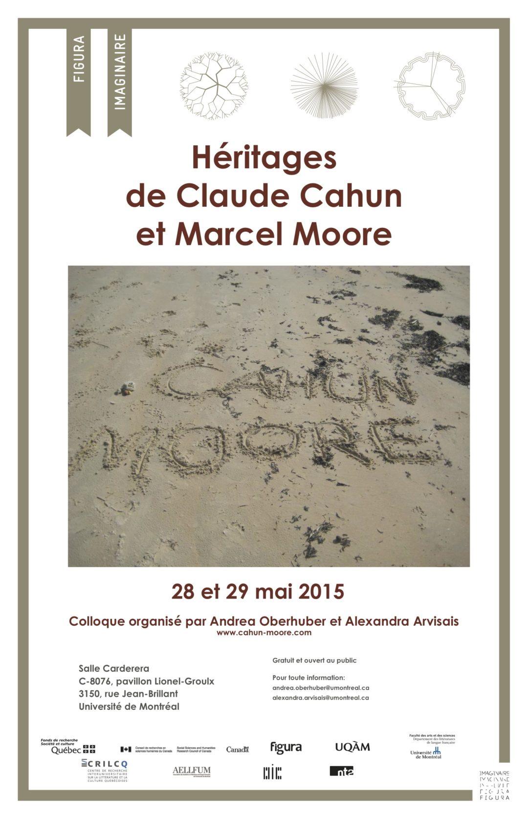 Colloque 2015: Héritages de Claude Cahun et Marcel Moore