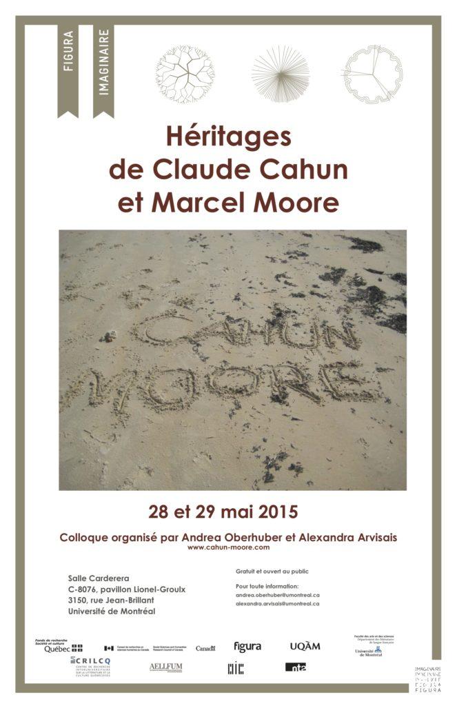 Colloque 2015 : Héritages de Claude Cahun et Marcel Moore
