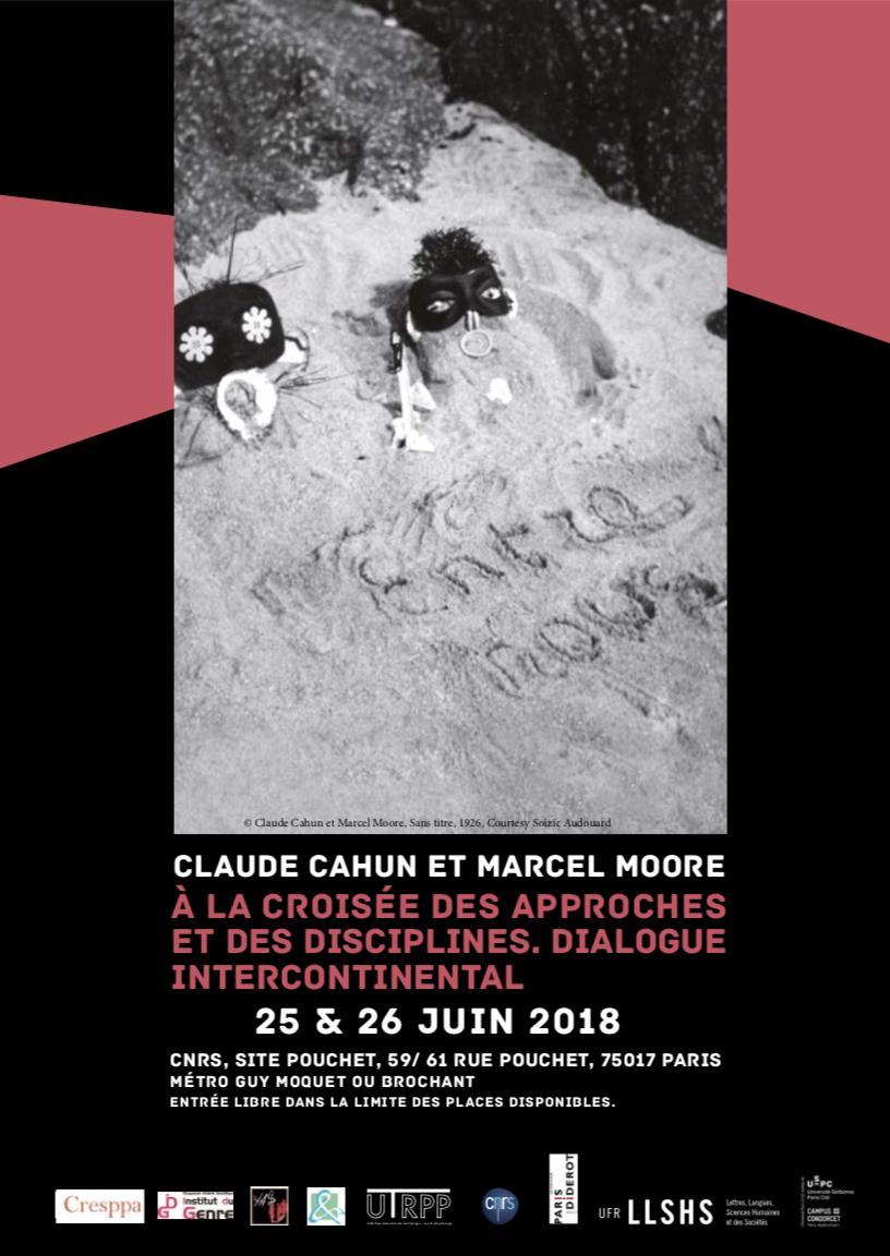 Colloque 2018: ClaudeCahun etMarcel Moore — à la croisée des approches et des disciplines. Dialogue intercontinental