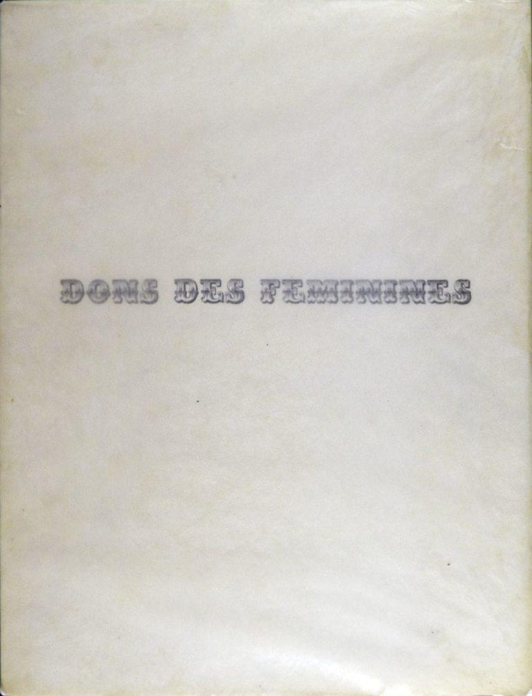 Penrose, Valentine, Donsdesféminines
