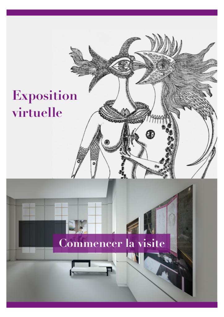 Exposition virtuelle 2018 : Le Livre surréaliste au féminin, déambulation libre